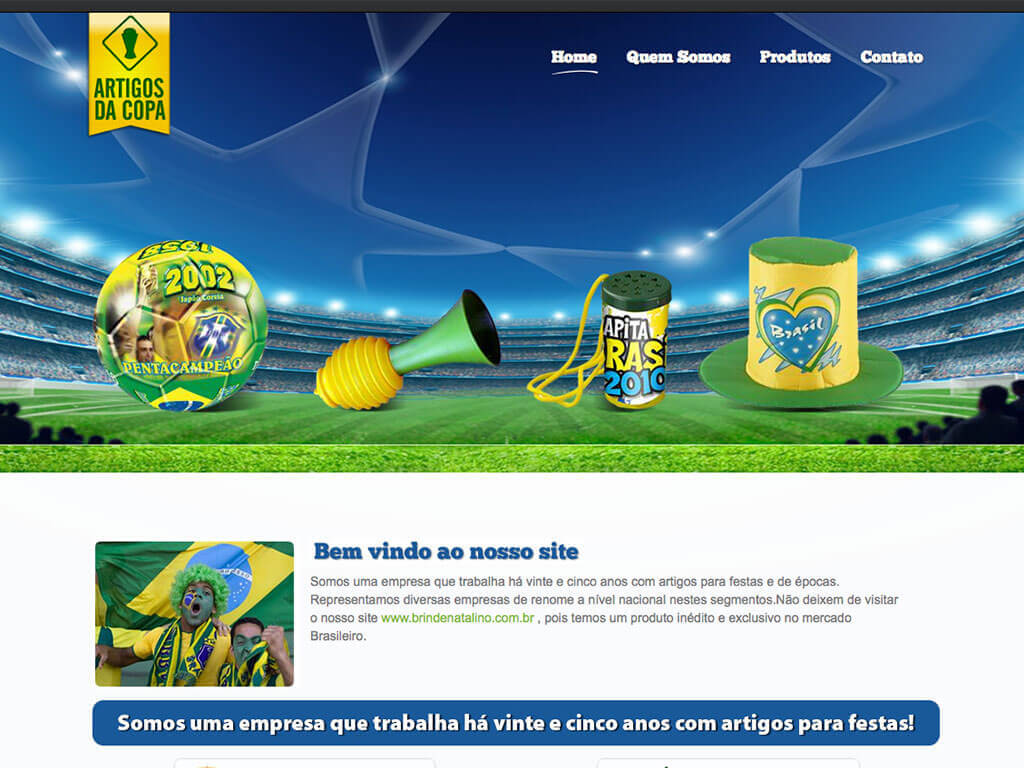 Artigos da Copa